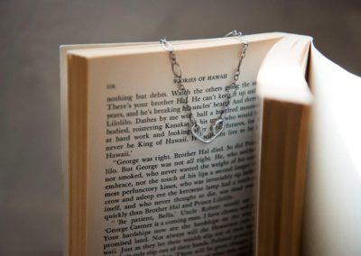 Gigi Sterling silver heart bracelet
